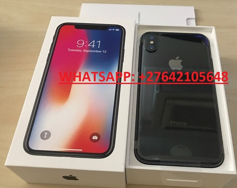 Apple iPhone X 64GB €400 ,iPhone X 256GB €450,iPhone 8 64GB €350,Samsung Galaxy S9/S9+ 64GB €400  //  WhatsApp: +447451221931
