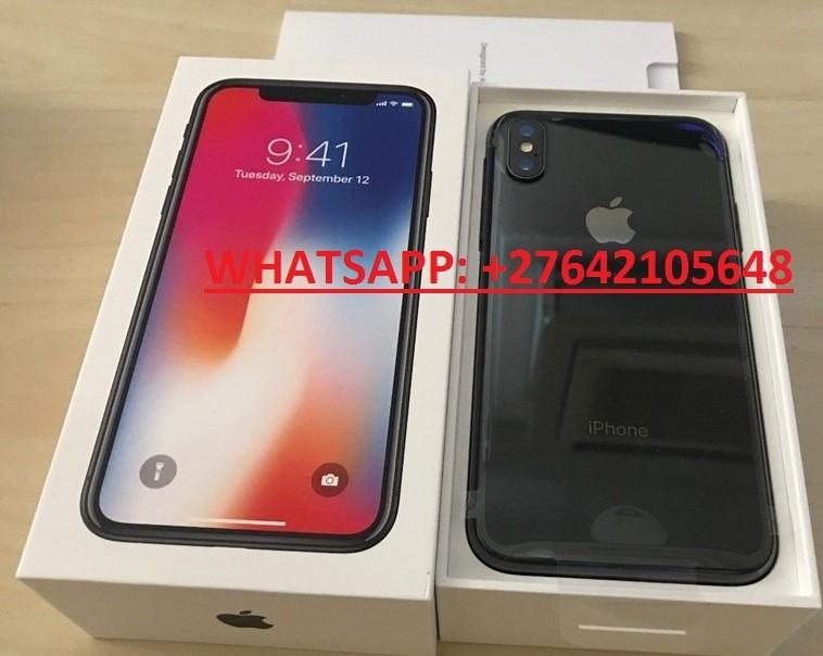 Apple iPhone X 64GB €400 ,iPhone X 256GB €450,iPhone 8 64GB €350,Samsung Galaxy S9/S9+ 64GB €400  //  WhatsApp: +447451221931