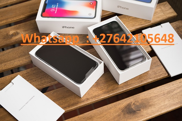 Apple iPhone X 64GB = 400 EUR ,Apple iPhone X 256GB = 450 EUR ,Samsung Galaxy S9/S9+ 64GB = 400 EUR  //  WhatsApp: +447451221931