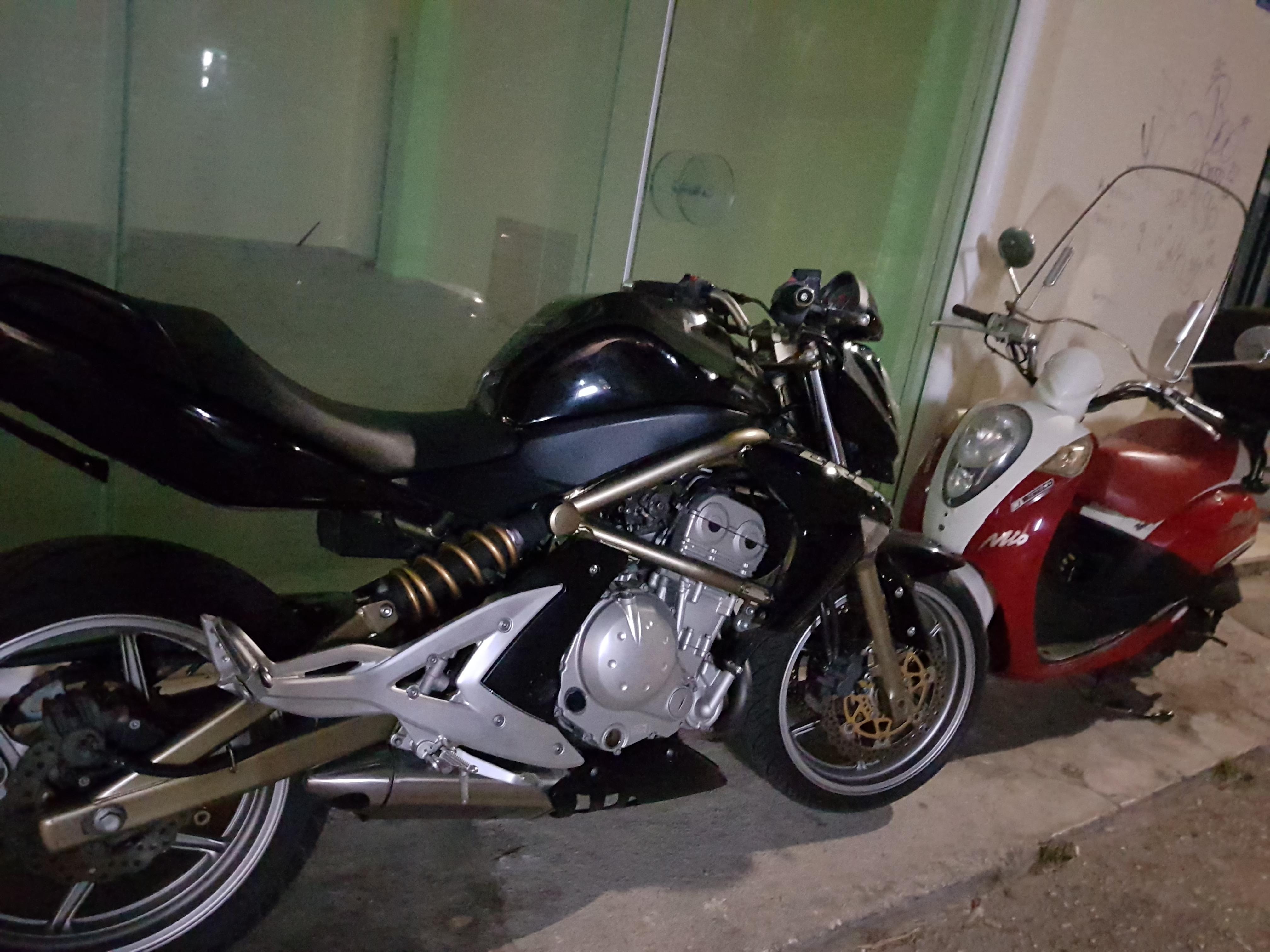 Kawasaki er6n 2008