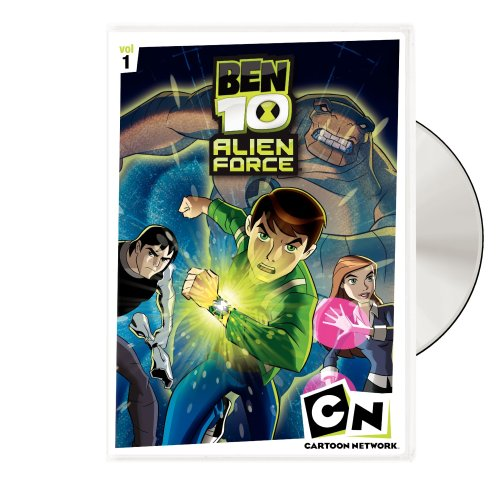 8 DVD BEN 10 ALIEN FORCE 1ος Κύκλος