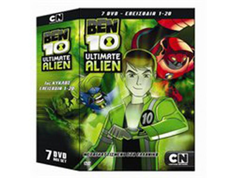BEN 10 ULTIMATE ALIEN 1ος Κύκλος 7 DVD + Θήκη