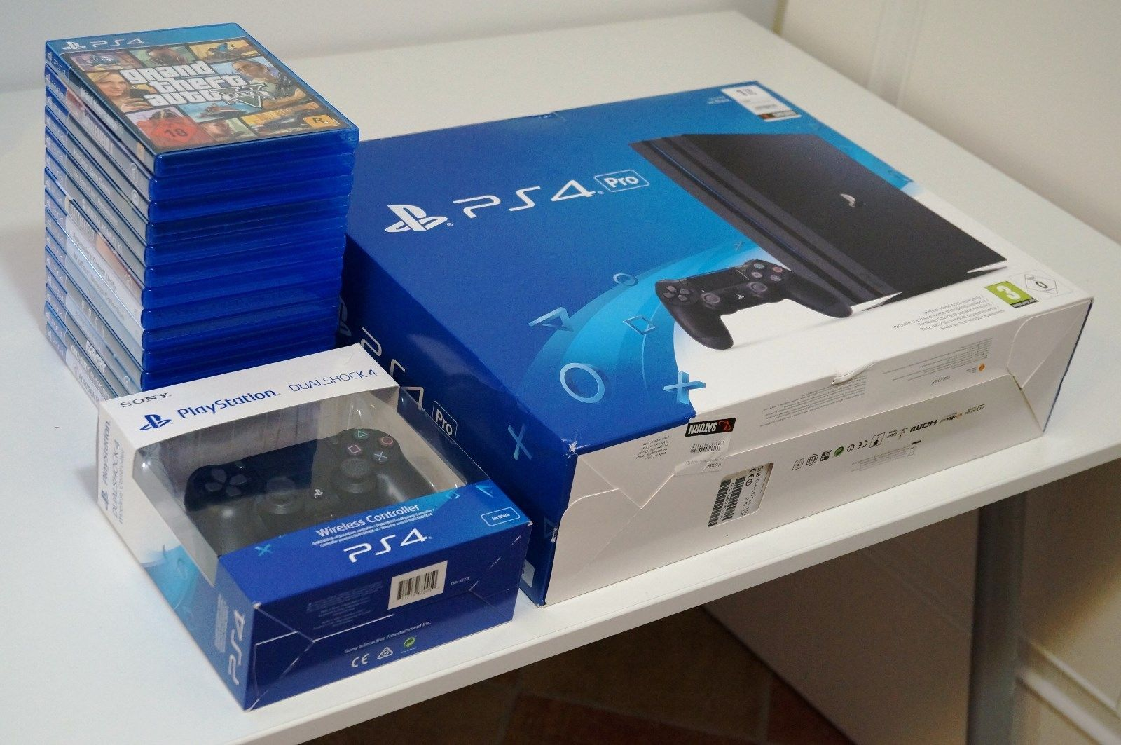 Order – New Sony PlayStation 4 Slim & Microsoft Xbox One X Full Bundle