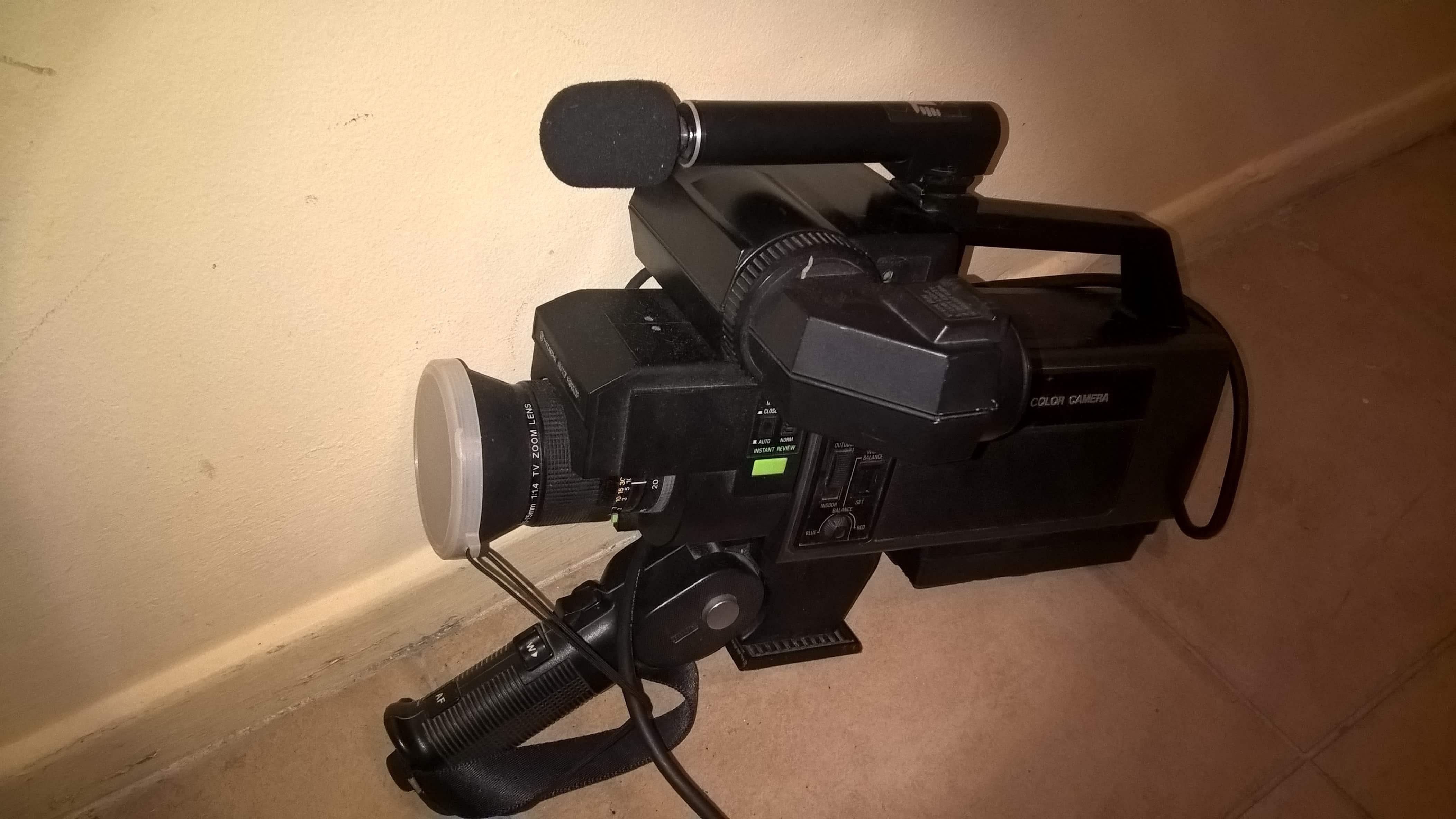Camera Hitachi.