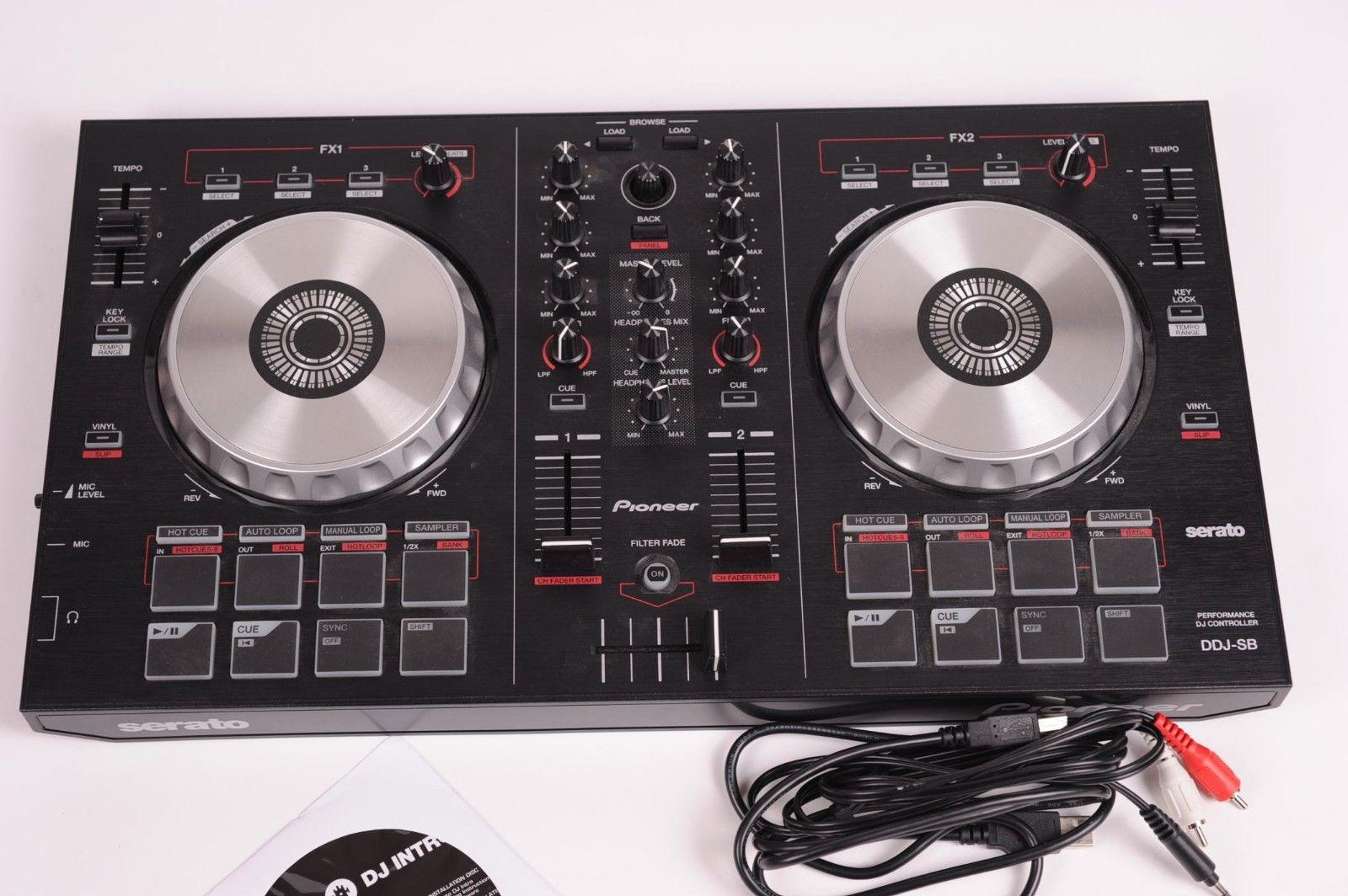 ΝΕΟΣ!! Pioneer DJ ψηφιακός ελεγκτής DDJ-SB Serato Mixer Scratcher από τις ΗΠΑ