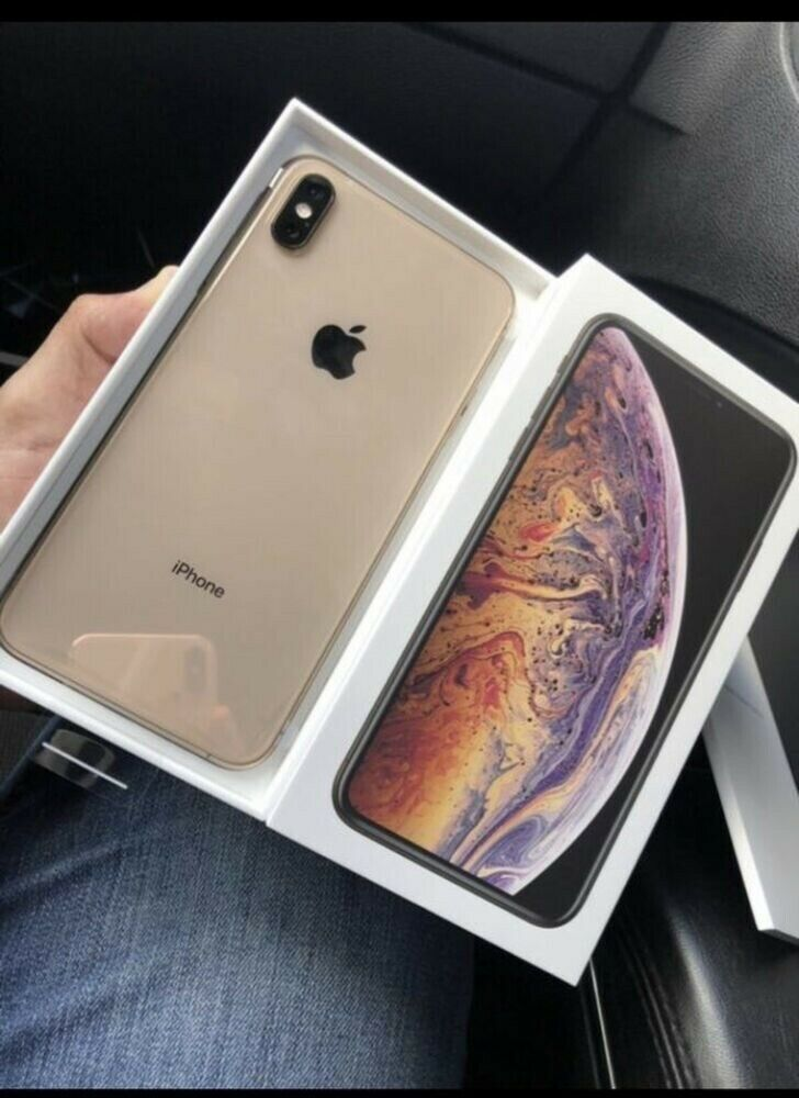 Apple iPhone XS Max – All GB – Gold (Factory Unlocked CDMA+GSM) Sealed