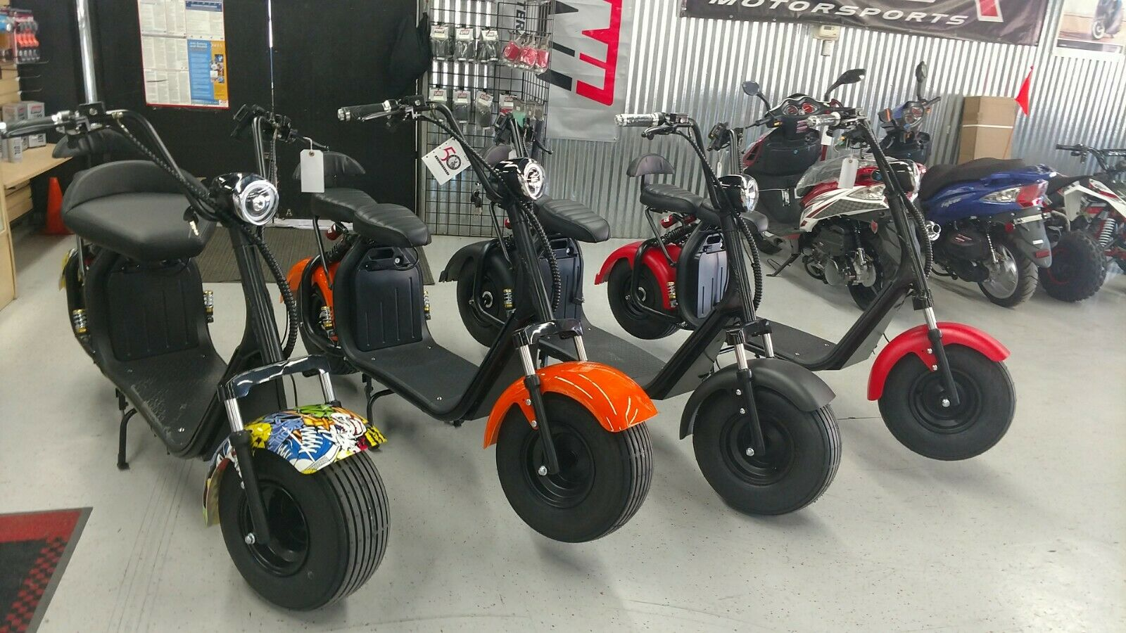 For Sale 2000W Citycoco Electric Scooter