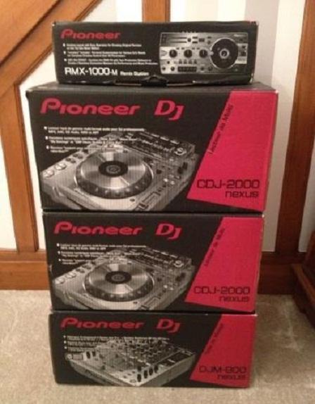 2x Pioneer CDJ-2000NXS2 1x DJM-900NXS2 μίξερ 1799EUR