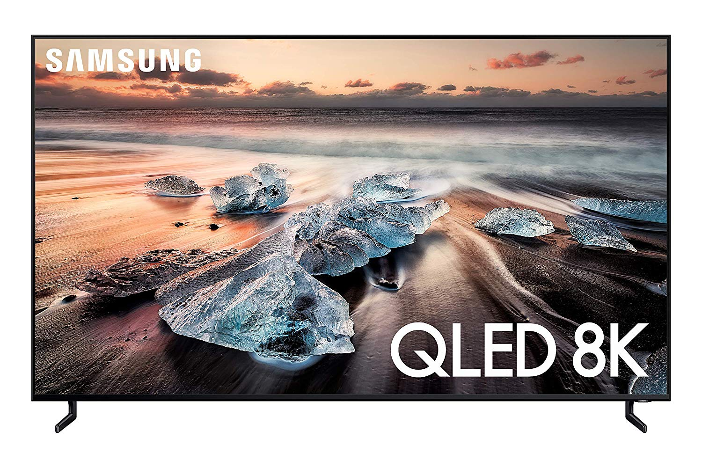 "Samsung QN65Q900RBFXZA Flat 65"" QLED 8K Q900 Series Smart TV (2019)"