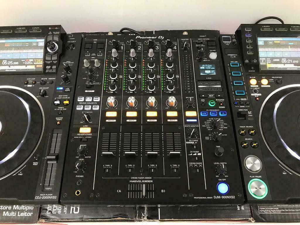 2x Pioneer CDJ-2000NXS2 + 1x DJM-900NXS2 μίξερ == 1899 EUR, Whatsapp Chat: +27837724253