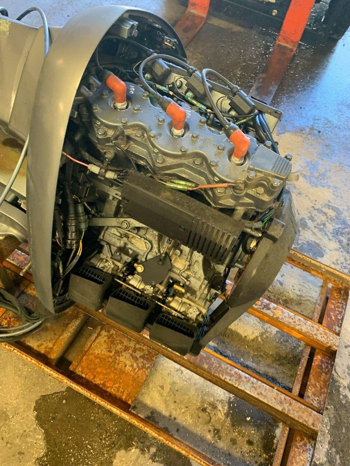 1992 Yamaha 225 Carbureted Carb 2-Stroke 25 Εξωλέμβιες μηχανές σκαφών V6 200