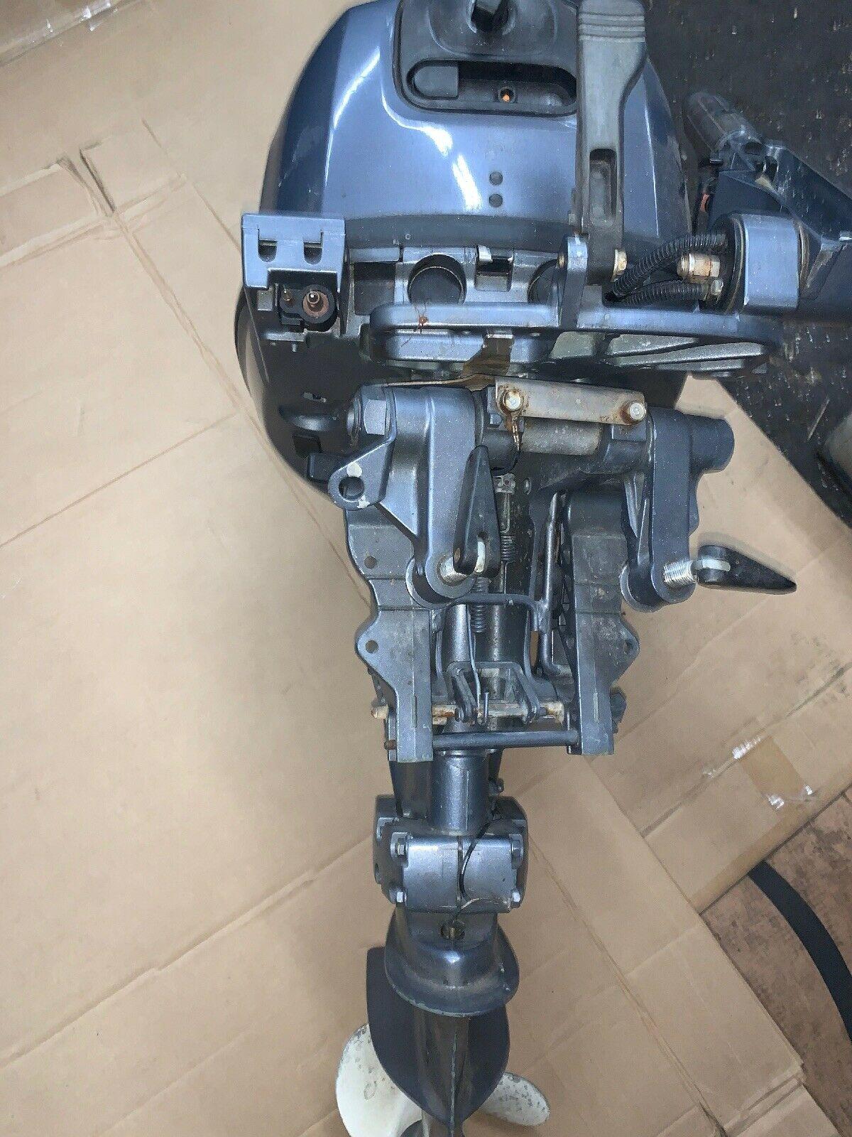 "2000 Yamaha 4 Stroke 15 HP Εξωλέμβιος Ναυτικός Κινητήρας 15 ""άξονας"