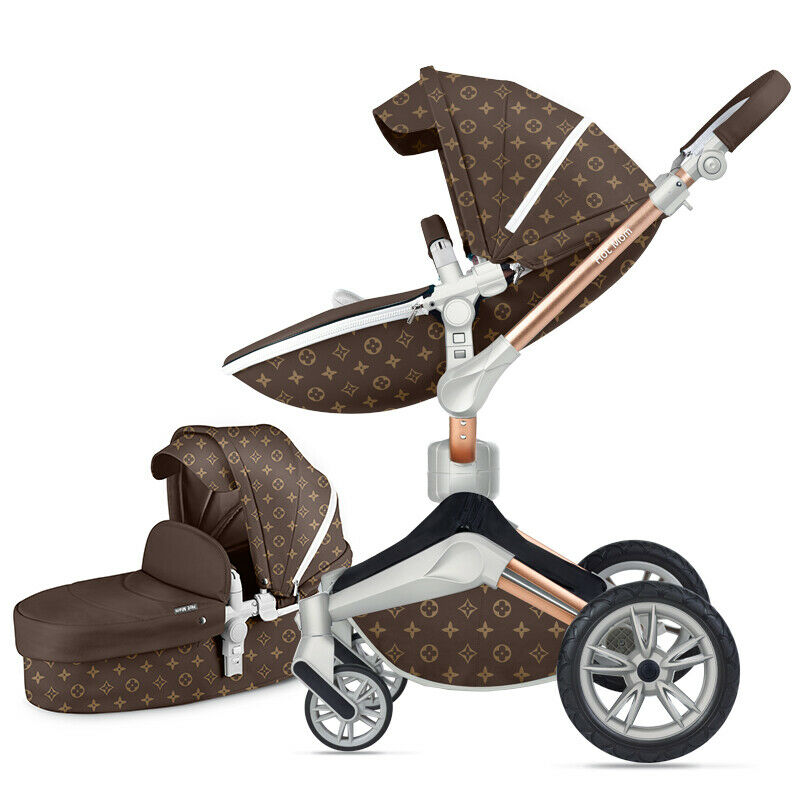 Hot mom 3 σε 1 Καροτσάκι μωρού Καροτσάκι μπεμπέ Μπόουλινγκ Combo Καροτσάκι & κάθισμα αυτοκινήτου