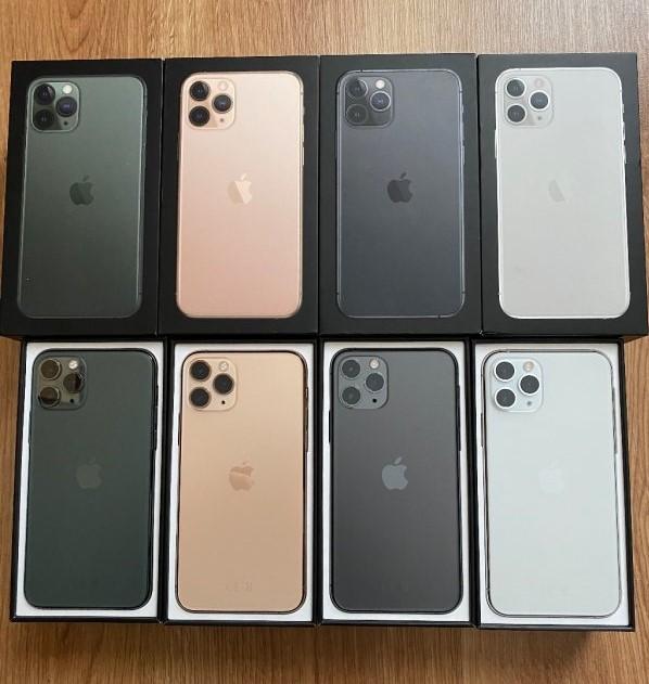 Apple iPhone 11 Pro 64GB = €500,iPhone 11 Pro Max 64GB = €530 ,  iPhone 11 64GB = €400 , iPhone XS64GB = €350 , iPhone XSMax 64GB = €370 , Whatsapp Chat : +27837724253