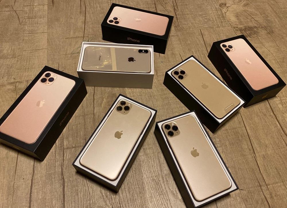 Apple iPhone 11 Pro 64GB = 500 EUR,iPhone 11 Pro Max 64GB = 530 EUR, iPhone 11 64GB = 400 EUR , iPhone XS 64GB = 350 EUR, Apple iPhone XS Max 64GB = 370EUR , Whatsapp Chat : +27837724253