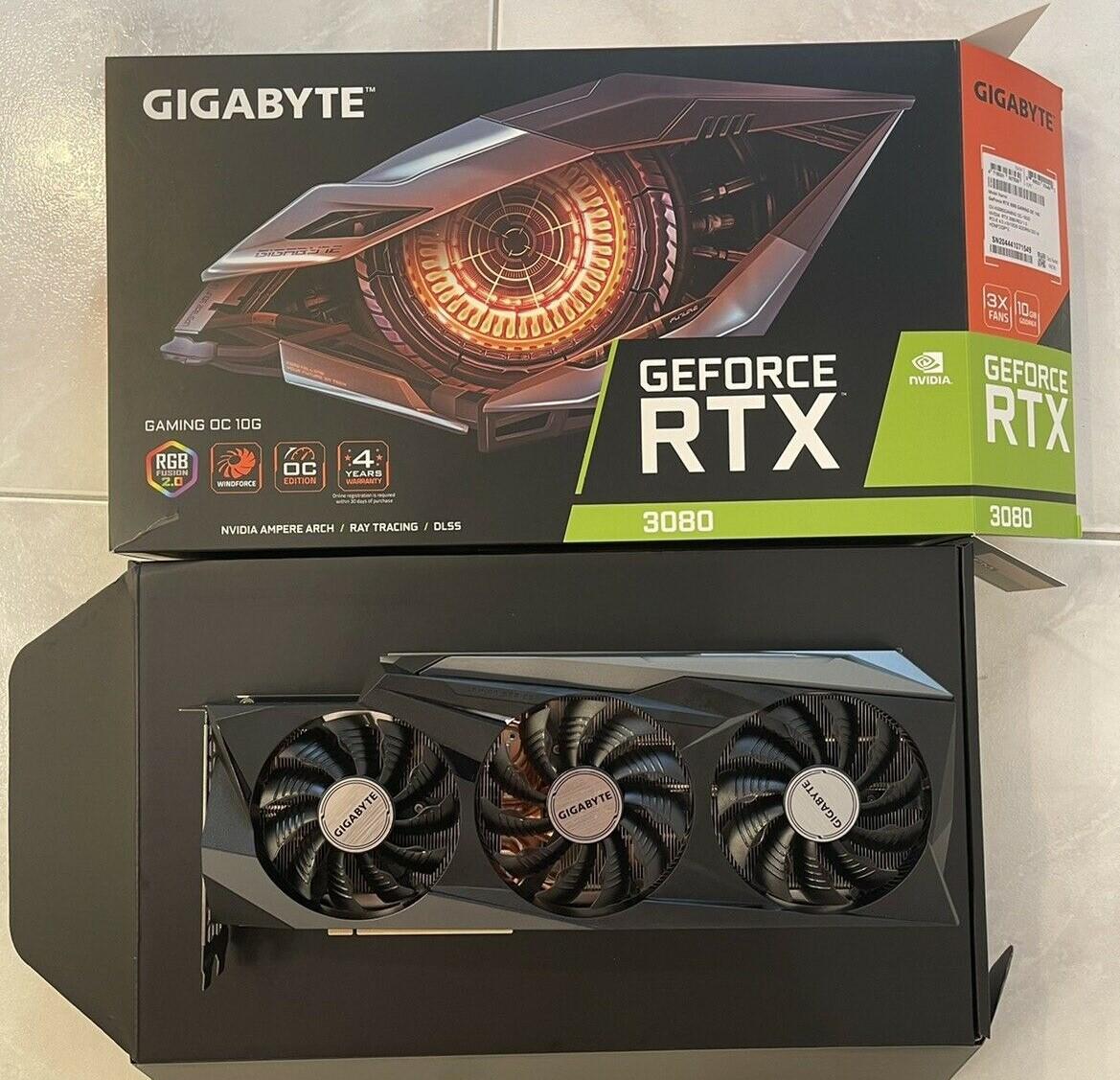 NVIDIA GEFORCE RTX 3090, RTX 3080, RTX 3080 TI, RTX 3070 TI, RTX 3070, RTX 3060 TI, RTX 3060, RADEON RX 6900 XT , RADEON RX 6800 XT