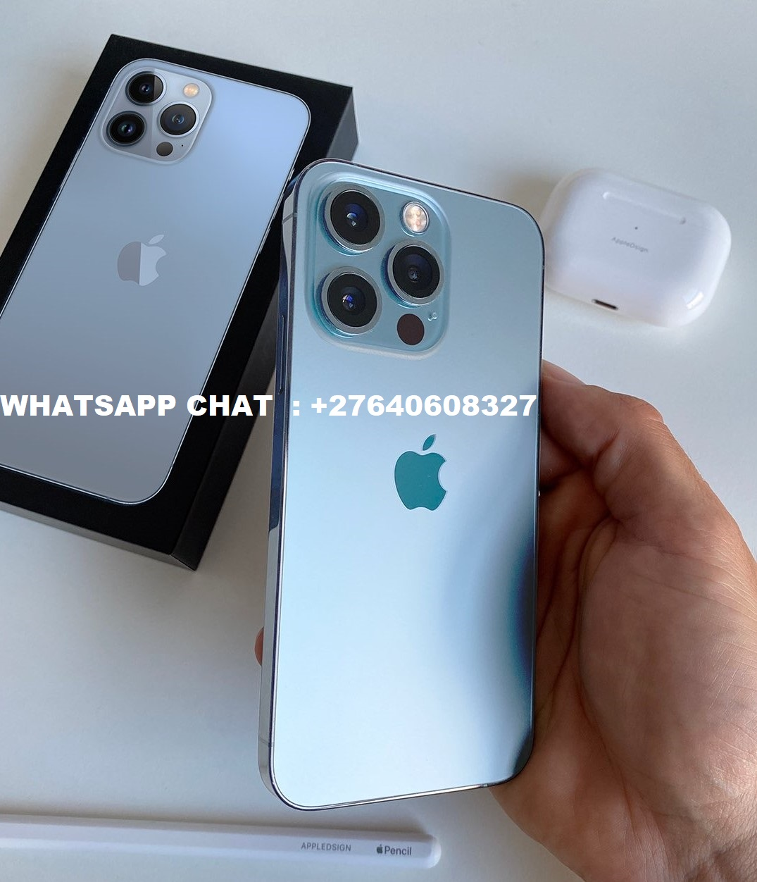 Apple iPhone 13 Pro 128GB = 700 EUR , iPhone 13 Pro Max 128GB = 750 EUR, iPhone 13 128GB = 550 EUR, iPhone 12 Pro 128GB = 500 EUR, iPhone 12 Pro Max 128GB = 550 EUR, Samsung Galaxy S21 Ultra 5G 128GB = 520 EUR